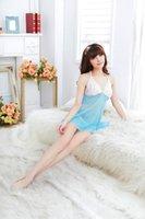 ingrosso g string bianco blu-abito da notte sexy in pizzo bianco pizzo lingerie, set di corde g