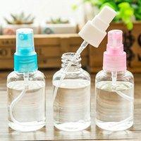 verwenden sie mini-parfüm-flasche groihandel-50 ml Mini Travel Verwendung transparentes Plastik Parfümzerstäuber Kleine Seife Lagerung Hautpflege leere Spray-Mehrwegflasche