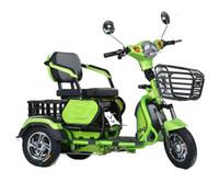 scooters triciclo al por mayor-Ocio pasajero para adultos eléctrico Triciclos familiar taxi tuk tuk scooter