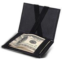ingrosso commerciano dollari-Portafoglio uomo in pelle bifold per uomo Portafoglio portafoglio in pelle per uomo portafogli in argento
