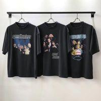 рубашки мужского пола оптовых-19ss BLCG Speedhunters печатных футболка мода Мужчины Женщины хип-хоп с коротким рукавом высокое качество мировая продовольственная программа Лето Tee Hfymtx402