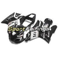preto branco yamaha r1 venda por atacado-West White Black Sportbike Invólucro Para Yamaha 2000 2001 YZF1000 R1 Peças Plásticas Completas R1 00 01 Bicicleta Carroçaria Painéis Corpo Frames