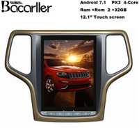 dvd gps grande venda por atacado-táctil multimedia rádio de carro tela para Jeep Grand Cherokee com dvd carro Bluetooth GPS de vídeo