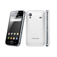 notiz single sim dual core großhandel-S5830i Original Samsung Galaxy ACE S5830 entriegelte 5MP Kamera WIFI GPS 2G WCDMA Refurbished Android Handy
