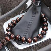 Wholesale buddha ornament resale online - Wood Buddha Beads Car Rearview Mirror Hanging Pendant Interior Decor Ornament