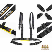 Wholesale epman resale online - EPMAN Seat Belts Style Competition Point Snap Seat Belt Racing Harness safety belt seat harness