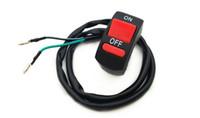 botón de 12v al por mayor-Universal 12V Moto Manillar Accidente Interruptor de luz de peligro Botón ON / OFF Envío gratis