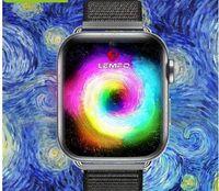 telefones inteligentes de tela grande venda por atacado-4G Relógio Inteligente Android 7.1 1.82 Polegada 360 * 320 Tela 3 GB + 32 GB GPS WIFI 700 mah Bateria Grande Smartwatch PK LEM10
