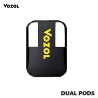 Wholesale battery protection circuit resale online - VOZOL D2 Disposable Pod Kit Dual in Device mAh Short Circuit Protection Battery Dual Coil Design Puffs
