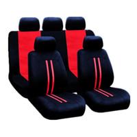 Wholesale headrest cushions resale online - Universal Car Seat Cushion Non slip Air permeable Wear resistant Dirt resistant Seat Cushion Headrest Covers Metal Hooks