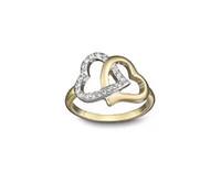 ingrosso anello di frequenza cardiaca-La migliore moda glamour delle nuove donne, la collezione completa di cuori e cuori, gli anelli della serie della dea