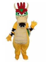 personagens profissionais venda por atacado-2018 Profissional de alta qualidade personalizado kuba Charizard Mascot Costume Super Mario Dragão Dinossauro Caráter Roupas