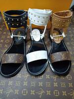 zwei sandalen großhandel-Designer Frauen Sommer Pumps Schuhe 65mm High Heels Slingback Beige Grau Schwarz Two tone Leather Damen Luxus Sandalen Größe 34-46 Box