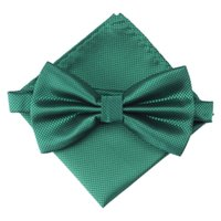 Wholesale mens tuxedo bow tie for sale - Group buy Mens Checkered Bowties Pocket Square Set Women Tuxedo Party Wedding Neckties Butterfly Jacquard Bow Tie