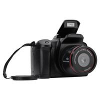 videocámaras precio al por mayor-Con la cámara del precio de fábrica de vídeo videocámara Full HD 720P 16MP digital portátil Mic Max zoom de 2,4 pulgadas LCD 19Mar28