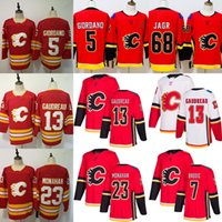 Wholesale jaromir jagr jerseys for sale - 2019 New Mens Red Calgary Flames  Johnny Gaudreau Jersey 3c21605a3c70