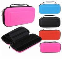 manipulado venda por atacado-Carry Case Box com Alça para Nintendo Switch Console Game Hard Protective Bag EVA Capa Protetora de Viagem Caso Carrying