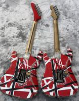 hızlı gitar toptan satış-2022 Yüksek Kalite Elektro Gitar Eddie Van Halen En iyi kalite Gitarlar, yaşlı kalıntı st, yükseltilmiş kaliteli donanım, hızlı Elektrikli G sevk