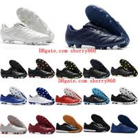 botas ii al por mayor-2018 baratas de fútbol para hombre baratas Retro Tiempo Premier II TF IC botas de fútbol Tiempo Legendario 2.0 FG AG zapatos de fútbol Caliente