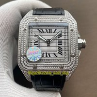 Wholesale three dial mens watch resale online - WWF Super version WM505914 WM505014 Diamonds Eagle pattern Three in one Dial MC Mechanical Mens Watch Diamond Case Designer Watches