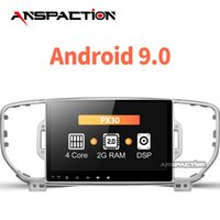 rádio de carro para kia venda por atacado-Rádio do carro Leitor de DVD multimídia Android 9.0 2 din de navegação para KIA Sportage 2011-2015 gravador unidade estéreo cabeça Gps player WIFI carro dvd
