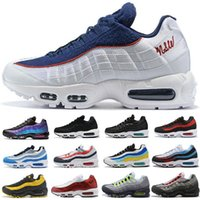 Wholesale white sneakers resale online - 2020 Bred OG White Gym Red University Gold Laser Fuchsia Men Running Shoes Triple Black s Mens Trainers Sports Sneakers Size