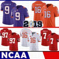 61f74dcb87a Wholesale ncaa jersey xxl for sale - Clemson Tigers Trevor Lawrence Jersey  NCAA Travis Etienne Jr