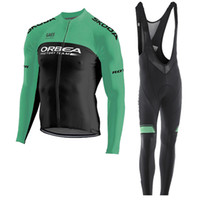 Wholesale orbea bike cycling long for sale - 2019 men ORBEA Cycling jersey cycling clothing Spring Autumn mtb bike Wear ropa ciclismo long sleeve bicycle shirt bib pants suit Y