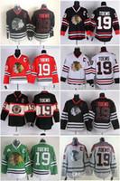 ingrosso blackhawks jersey cranio nero-2016 Cheap Chicago Blackhawks Hockey Maglie # 19 Jonathan Toews uomo Jersey con C Patch casa rosso bianco verde nero cranio grigio