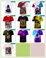chalecos juveniles al por mayor-Hot 10style Apex Legends camiseta Cospaly Battle Royale chaleco de arriba a juego Hombres Mujeres jóvenes Harajuku Streetwear Camiseta Plus TB1482-H