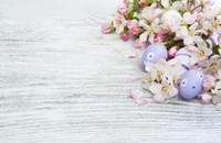 ingrosso immagini di goccia indietro-Vinile in legno, uova, Pasqua Fotocall Personalizado Picture Background Back Drop E190127A105