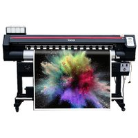 Wholesale inkjet digital printer for sale - Group buy wide format locor mm eco solvent printer single print head CISS ink supply ft m digital printing machine