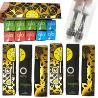Wholesale concentrate vape pens for sale - Group buy Hot Newest Glo Vape Carts ml Vape Cartridge Pyrex Tank Atomizer Ceramic Coil Concentrate Packaging Gift Box Disposable Vape Pen
