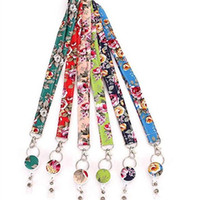 supports de téléphone de nouveauté achat en gros de-Nouveauté Femmes Tour De Cou Lanyard Carte Rétractable Badge Badge Bobine Téléphone DIY Accrocher Corde Porte-clés Porte-Badge
