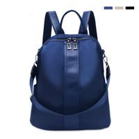 kore kanvasının rahat sırt çantası toptan satış-1 backpack Kadın Oxford Tuval Omuz Çantaları Kadın Güzel Kore Versiyonu Pop Naylon Torba Moda Vahşi Rahat Bayanlar sırt çantası