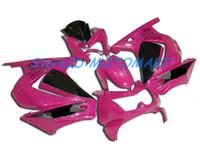 комплекты обтекателей для кавасаки ниндзя оптовых-Пресс-форма для KAWASAKI Ninja ZX250R ZX 250R 2008 2012 Комплект обтекателей EX250 ZX250 08 12 Комплект обтекателей + 7 подарков KM18