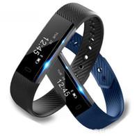 tecnología portátil para niños al por mayor-La tecnología portátil Accesorios para el teléfono Pulseras inteligentes Bluetooth brazalete deportivo compatible con pantalla táctil monitor de suspensión xh009