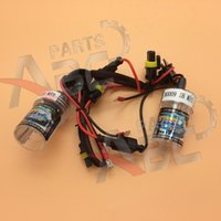 Wholesale hid xenon headlights bulbs for sale - Group buy Two W Xenon HID Kit s Headlight For Car Replacement Light Bulbs H7 K W