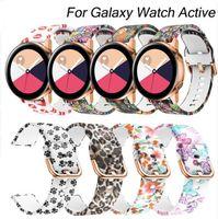 aktiver gang großhandel-Für Samsung Galaxy Watch Active 20mm Silikonarmband für Gear S2 Sport Ersatzarmband für Samsung Galaxy Watch 42mm