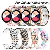 ingrosso attrezzo attivo-Per cinturino per cinturino in silicone attivo da 20 mm per Samsung Galaxy Watch per cinturino sportivo Gear S2 per orologio Samsung Galaxy 42mm