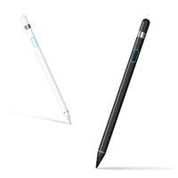 multa da caneta do ipad venda por atacado-Caneta stylus para tela sensível ao toque recarregável 1.5mm ponto inteligente caneta ativa caneta digital adequado para iphone ipad smartphones tablets