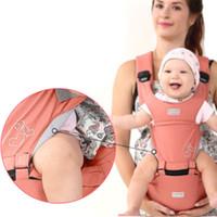 sırt çantası askıları toptan satış-Bebek Kanguru Çanta Rgonomic Fonksiyonlu Kolaylık Kemer Bebek Açık Taşıyıcı Sling Suspenders Sırt Çantası Kalınlaşma Omuz