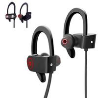 ingrosso cuffia senza fili del bluetooth hd-DXVROC Sport Cuffie sportive wireless Resistente al sudore Auricolari stereo stereo pesanti Bluetooth 4.1 5.0 + EDR Cuffie auricolari Cancellazione del rumore