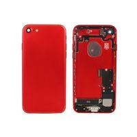 iphone 5s arka gövde toptan satış-IPhone 7G 7 Artı 6 S 6 Artı 5G 5 S SE Küçük Parçaları Ile Tam Konut Arka Kapı Pil Kapağı Ücretsiz DHL