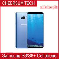 Wholesale red cell phone accessories for sale – best Samsung Galaxy S8 S8 Plus Original Unlocked G LTE Android Phone Octa Core quot MP RAM GB ROM GB Cell Phone