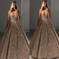 Wholesale long black dress deep back for sale - Group buy Vintage Sparkly Sequins Long Prom Evening Dress Sleeve V neck Backless Formal Party Gown Sexy Pageant Gowns