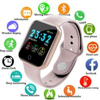 Wholesale I5 for Apple Watch Pedometer Music Control Multiple Dials Heart Rate Fitness Smartwatch Men Women Android IOS VS B57 Smart Watch