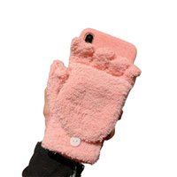Wholesale warm pink resale online - Winter Warm Phone Case For iPhone X XR XS MAX Glove Back Cover For iPhone Plus