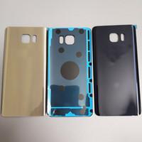 original galaxy note batterie großhandel-100% Original Samsung Galaxy Note5 Note 5 Zurück Batterieabdeckung 3D-Glasgehäusedeckel für Samsung Note 5 Door Rear Case Replacement