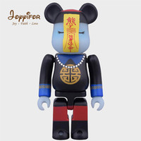 Wholesale zombie toy dolls resale online - 28cm Bearbricklys Action Figure Kitty Pirate Captain Christmas Zombies Babybear Dolls PVC Collectible Models Kids Toys Gifts T200321